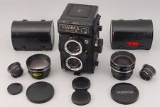 [Near Mint]Yashica MAT 124 G Medium Format TLR Film Camera with Parts From Japan
