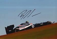 Bruno Senna Hand Signed 12x8 Photo Williams F1 5.