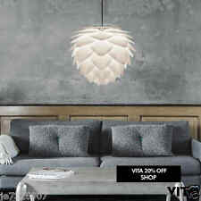 Vita Lighting Silvia Pendant Light Shade,Dinning,Kitchen,Bed,White,Lampshade