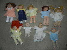 Vintage Cabbage Patch Doll Lot 9 Dolls