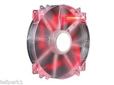 Cooler Master Megaflow 200mm Computer Fan with Red LEDs