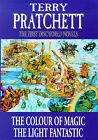 The First Discworld Novels:  Colour of Magic ,  Light Fantastic by Terry...