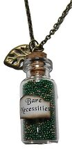 Disney's The JUNGLE BOOK Bare Necessities Glass Bottle Charm Necklace