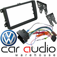 VOLKSWAGEN VW Golf MK5 V 2003-2008 Car Stereo Radio Double Din Fascia Facia Kit