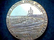 TRISTAN DA CUNHA 2008 CROWN ROYAL NAVY SERIE, HMS COLOSSUS BATTLESHIP, BU