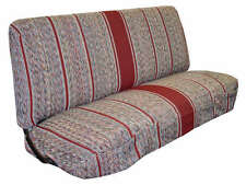 Full Size Truck Bench Seat Covers - Fits Chevy, Dodge, Ford Trucks (Burgundy)