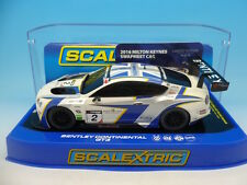 Scalextric NSCC Milton Keynes Car Bentley Continental only 75