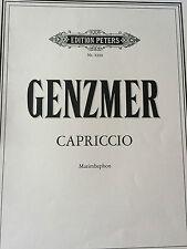 Genzmer - Capriccio - für Marimbaphon