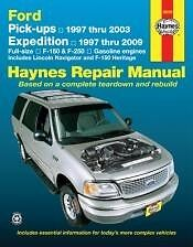 F150-250 Expedition Haynes Repair Manual NEW 97-09 Owners Book Service