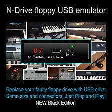 Nalbantov USB Floppy Disk Drive Emulator Yamaha Tyros 1, PSR 340/350/450/540/550