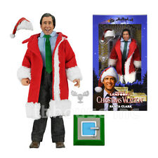 """8"""" SANTA CLARK GRISWOLD figure CHRISTMAS VACATION neca RETRO-STYLE CLOTHED doll"""