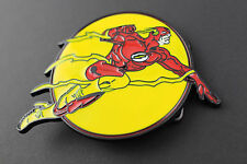THE FLASH BELT BUCKLE COMIC FIGURE DC THE JUSTICE LEAGUE MOVIE COMIC BOOK