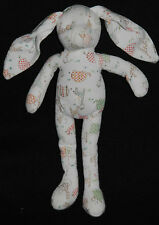Peluche Doudou Lapin Jungle SERGENT MAJOR Blanc Girafe Elephant  25/ 35 Cm  TTBE