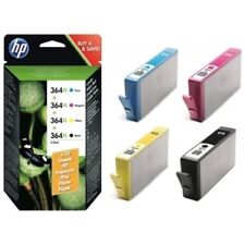4 Boxed New HP 364XL Ink Cartridges for PhotoSmart 5510 5520 6520 7520 B110a
