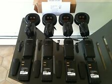 (4) MOTOROLA HT750 TWO-WAY LOW BAND RADIOS 29-42MHz 16ch AAH25BEC9AA3AN  XTS CP