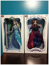 Disney Limited Edition Frozen Snow Queen Elsa and Snow Gear Anna Doll New!!