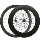 60mm+88mm Clincher Bike Cyling Wheels 700c Carbon Road Bicycle Racing Wheelset