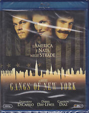 Blu-ray **GANGS OF NEW YORK** con Leonardi Di Caprio Cameron Diaz nuovo 2003