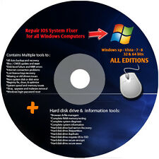 Dell Ultimate CD Computer Repair Boot CD For Windows 7 , Vista & XP