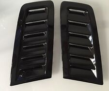 Focus RS MK2 style ABS plastic bonnet vents universal Fit Ford Profile Exact OE