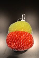 POT SCRUBBERS + SCOURERS + PLASTIC + 2 PACK + RED/YELLOW + 26805