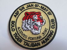 Bold Tiger Taliban Hunting Club Embroidered Iron or sew On  Patch -P127