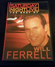 Saturday Night Live - The Best of Will Ferrell (DVD, 2003) WORLDWIDE SHIP AVAIL