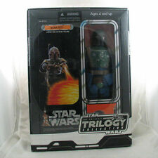 "Star Wars Original Trilogy Boba Fett figure 12"" inch OTC blue suit sealed"