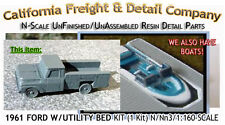 1961 FORD PICKUP W/UTILITY BED KIT N/1:160-Scale California Freight NEW!