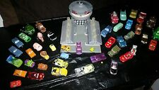 Huge Lot Of Disney Cars Diecast And Play Set Lightning McQueen Tow Mater 44+