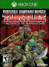 XBOX ONE TEENAGE MUTANT NINJA TURTLES MUTANTS IN MANHATTAN BRAND NEW VIDEO GAME