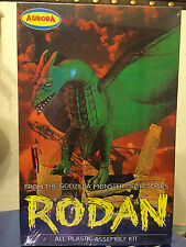RODAN MODEL KIT, PLAYING MANTIS, AURORA  REPRO 2000, Godzilla, Still sealed, MIB