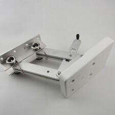 White Aluminum Outboard Mount Motor Bracket Trolling Dingy Auxiliary 115lbs