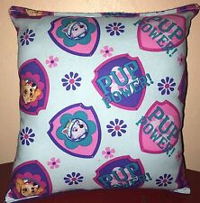 Paw Patrol Pillow Pup Power Paw Patrol Pillow Skye & Everest Handmade in USA Dog