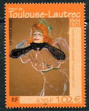 STAMP / TIMBRE FRANCE NEUF N° 3421 ** TABLEAUX TOULOUSE LAUTREC