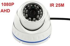 HD-AHD 2 MP 1080P OUTDOOR VANDAL DOME CAMERA 3.6MM SECURITY CCTV IR NIGHT VISION