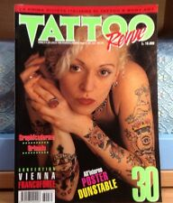 RIVISTA TATTOO REVUE NR.30  LUGLIO 1996 OTTIMO STATO-NO POSTER-