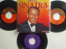 LOT OF 4 ' FRANK SINATRA ' HIT 45's+1P(Copy)[Strangers In The Night]  50's&60's!