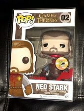 FUNKO SDCC 2013 Exclusive POP GAME OF THRONES Headless NED STARK Vinyl Figure