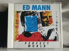 ED MANN - PERFECT WORLD CD EXCELLENT+ 1990 CMP RECORDS