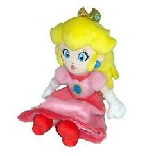 "New Nintendo Blue Super Mario Bros Plush Doll Soft Toy Doll Princess Peach 7"" xx"
