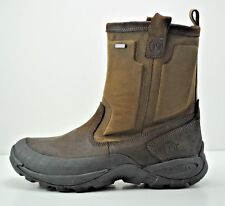 Mens Merrell Bergenz Waterproof Winter Boots Size 14 Brown Black J75295