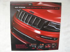 Jeep Grand Cherokee SRT - Prospektblatt Brochure 2015