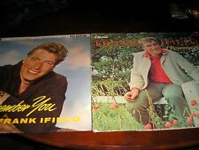 LOT 2 FRANK IFIELD LP'S-I'LL REMEMBER YOU & I REMEMBER YOU (DIFFERENT TRACKS)