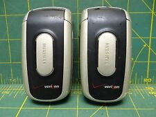 *Lot of 2* Samsung SCH-A630 Portable Dualband Phone Model# BST476BKA Verizon