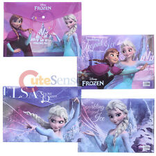 Disney Frozen Elsa Anna File Jacket 2pc  Portfolio Bag Stationery Set