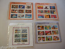 MINT PAGE STAMPS DISNEY CLASSIC FAIRYTALES SLEEPING BEAUTY & MORE LOT