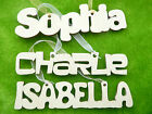Wooden hanging plaque name personalised wall sign choose your font and size