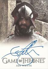 "GAME Of Thrones Stagione 3-Ian WHYTE ""Gregor Clegane"" AUTOGRAFO CARD"