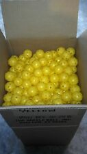24 WIFFLE® Golf Balls Plastic Practice Poly Golf Balls Yellow